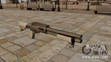 Pump-action shotgun Remington 870 for GTA 4