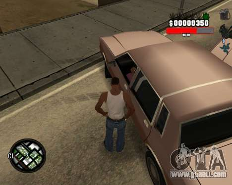 C-Hudik for GTA San Andreas second screenshot