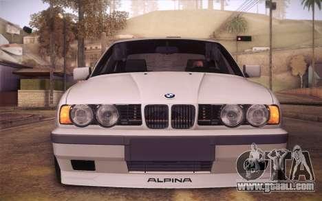 BMW E34 Alpina for GTA San Andreas right view
