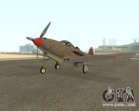 Aircobra P-39N for GTA San Andreas