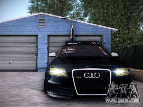 Audi Avant RS6 LowStance for GTA San Andreas left view