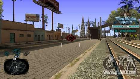 C-HUD Rifa Gang for GTA San Andreas third screenshot