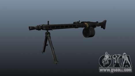 General-purpose machine gun MG-3 for GTA 4