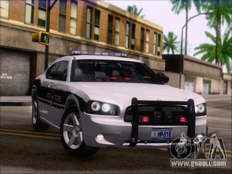 Dodge Charger San Andreas State Trooper for GTA San Andreas wheels