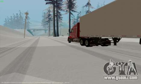 Volvo VNL 630 for GTA San Andreas right view