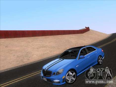 Mercedes-Benz E63 AMG 2011 Special Edition for GTA San Andreas back left view