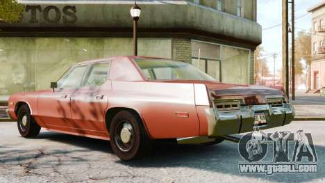 Dodge Monaco 1974 for GTA 4 right view