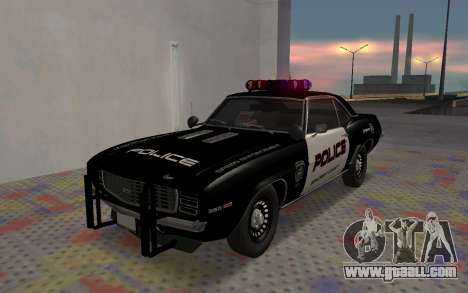 Chevrolet Camaro SS Police for GTA San Andreas