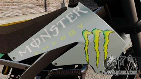 Sanchez Monster Energy for GTA 4 right view