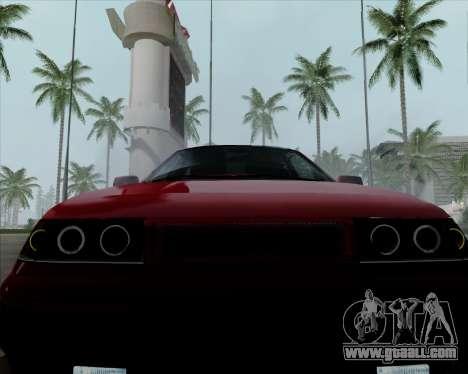 VAZ 2110 v2 for GTA San Andreas side view