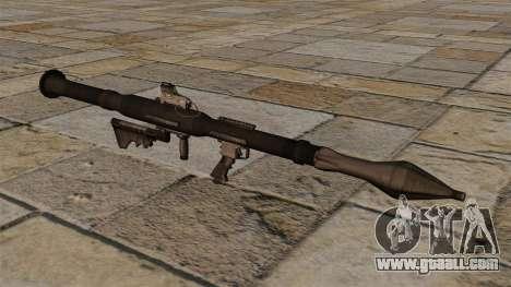 American anti-tank grenade launcher RPG-7 for GTA 4