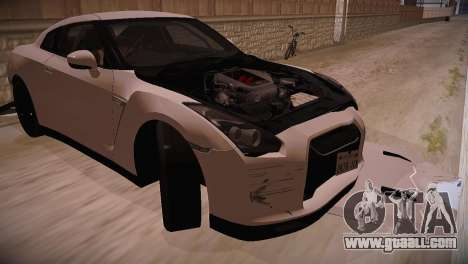 Nissan GT-R SpecV Ultimate Edition for GTA San Andreas right view