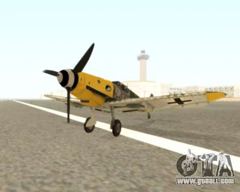 Bf-109 G6 v1.0 for GTA San Andreas
