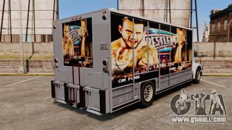 Stars of wrestling on Benson for GTA 4 left view