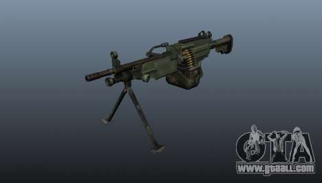 The C9 light machine gun for GTA 4