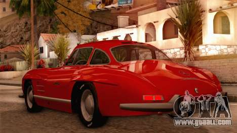 Mercedes-Benz 300SL Gullwing for GTA San Andreas back left view