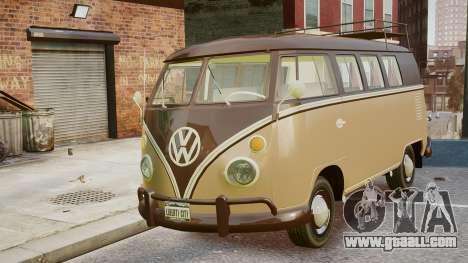 Volkswagen Transporter 1962 for GTA 4