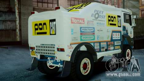MAN TGA GINAF Dakar Race Truck for GTA 4 left view