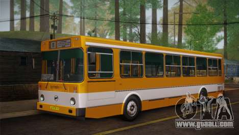 LIAZ 5256.00 Skin-Pack 1 for GTA San Andreas inner view