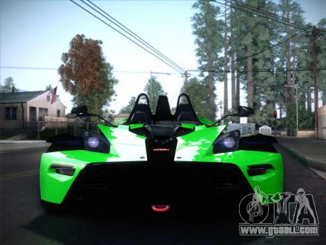 KTM Xbow R for GTA San Andreas right view
