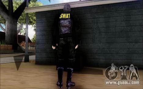 SWAT from Postal 2 for GTA San Andreas third screenshot