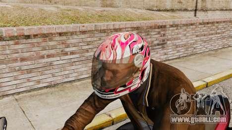 A collection of helmets Arai v2 for GTA 4 third screenshot