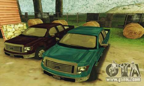 Ford F150 XLT Supercrew Trim for GTA San Andreas left view