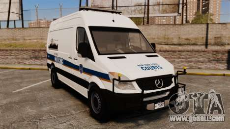 Mercedes-Benz Sprinter 2500 Prisoner Transport for GTA 4