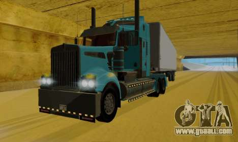 Kenworth T908 for GTA San Andreas left view