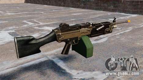 The M249 light machine gun Airsoft for GTA 4 second screenshot