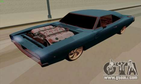 Dodge Charger 1969 Big Muscle for GTA San Andreas