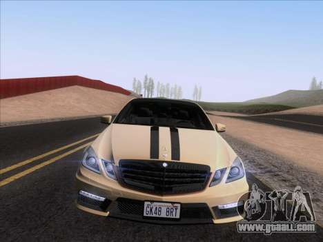 Mercedes-Benz E63 AMG 2011 Special Edition for GTA San Andreas right view