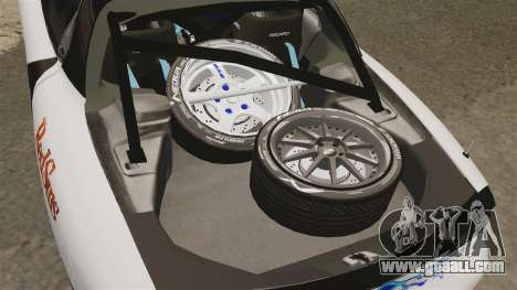 Mazda RX-7 for GTA 4 inner view