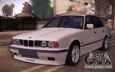 BMW E34 Alpina for GTA San Andreas