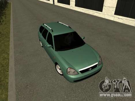 VAZ-2171 for GTA San Andreas back view