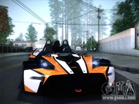KTM Xbow R for GTA San Andreas