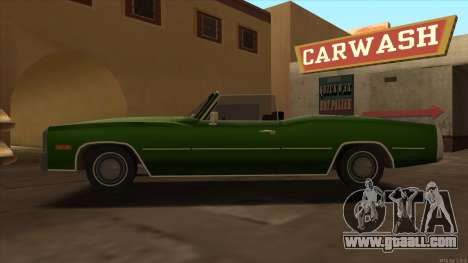 Esperanto HD from GTA 3 for GTA San Andreas left view