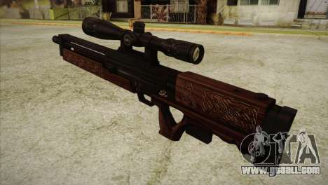 Walther WA2000 for GTA San Andreas second screenshot