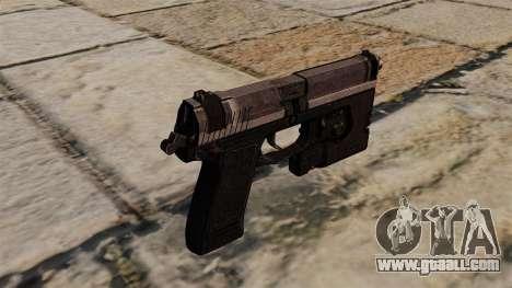 H&K MK23 Socom semi-automatic pistol for GTA 4 second screenshot