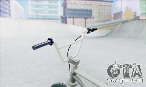 Trail Bike v1.0 for GTA San Andreas back left view