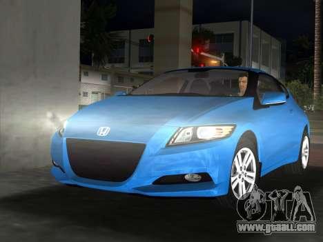 Honda CR-Z 2010 for GTA Vice City