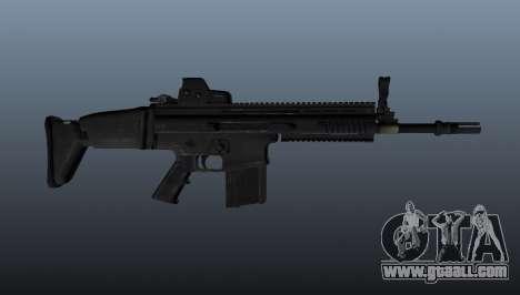 Automatic rifle FN SCAR-H for GTA 4 third screenshot