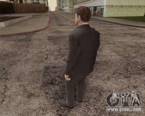 John Kennedy for GTA San Andreas second screenshot