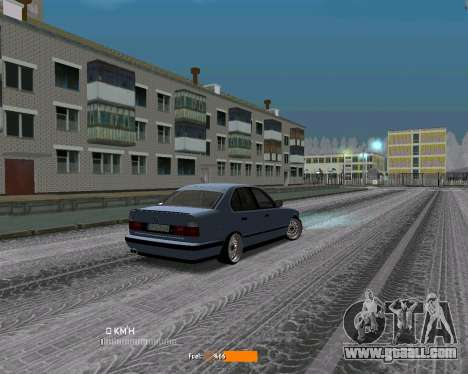 BMW E34 JDM for GTA San Andreas right view