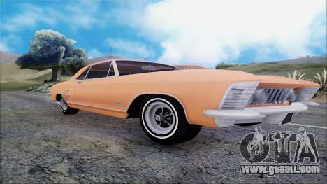 Buick Riviera 1963 for GTA San Andreas back view