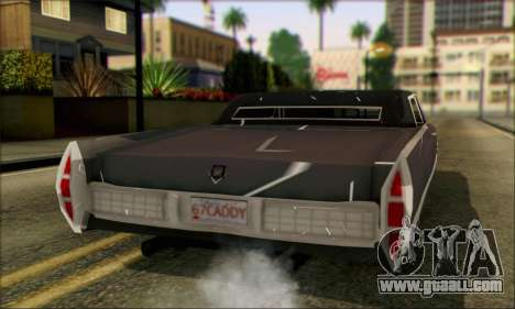 Cadillac Deville Lowrider 1967 for GTA San Andreas left view