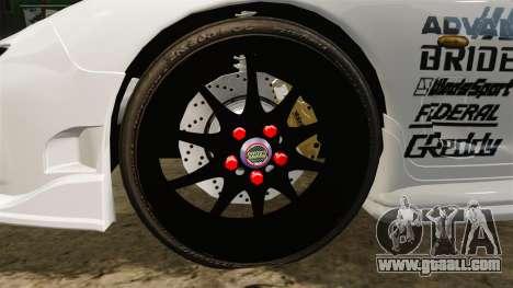 Mazda RX-7 for GTA 4 back view