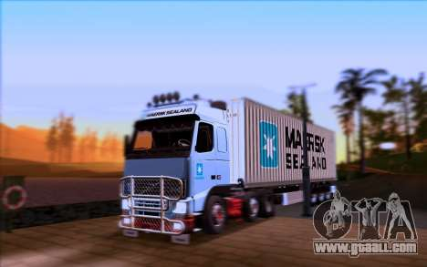 Trailer MAERSK for GTA San Andreas right view