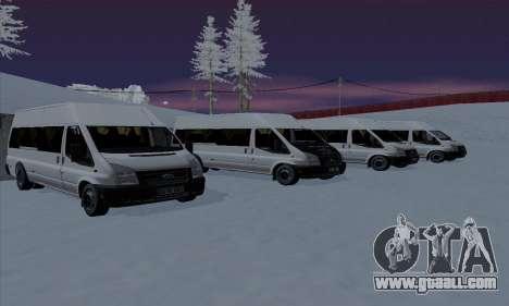 Ford Transit Jumgo for GTA San Andreas engine