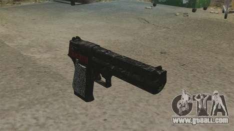 Desert Eagle Pistol Propa Gangsta for GTA 4